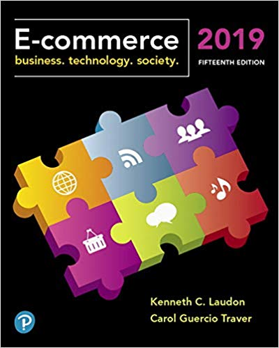 E-commerce 2019 : business, technology, society